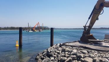 Thumbnail for Windang Bridge Scour Remediation Works