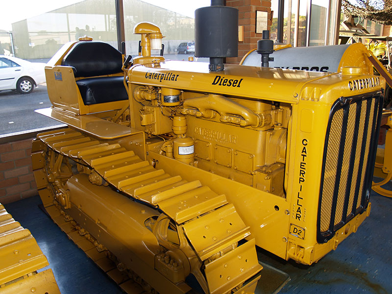 Cleary Bros Caterpillar D2 Old Dozer