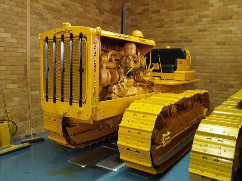 Cleary Bros Caterpillar D7 Old Dozer
