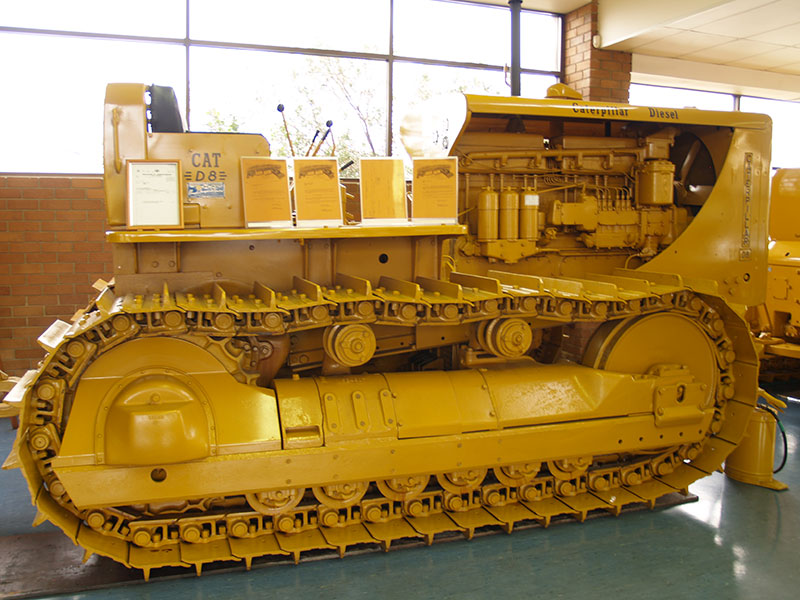 Cleary Bros Caterpillar D8 Old Dozer