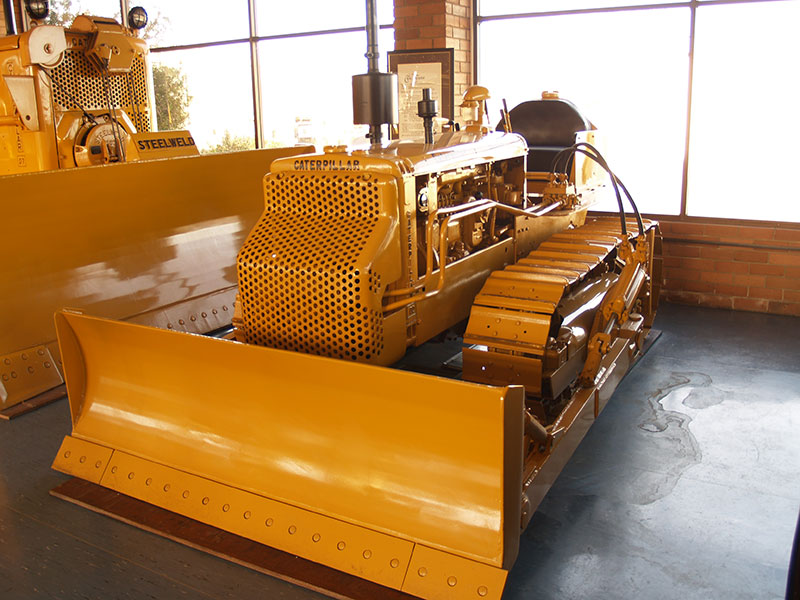 Cleary Bros Old Caterpillar Dozer