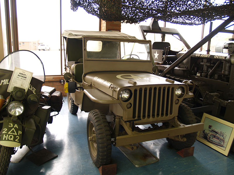 Cleary Bros Vintage US Army Jeep