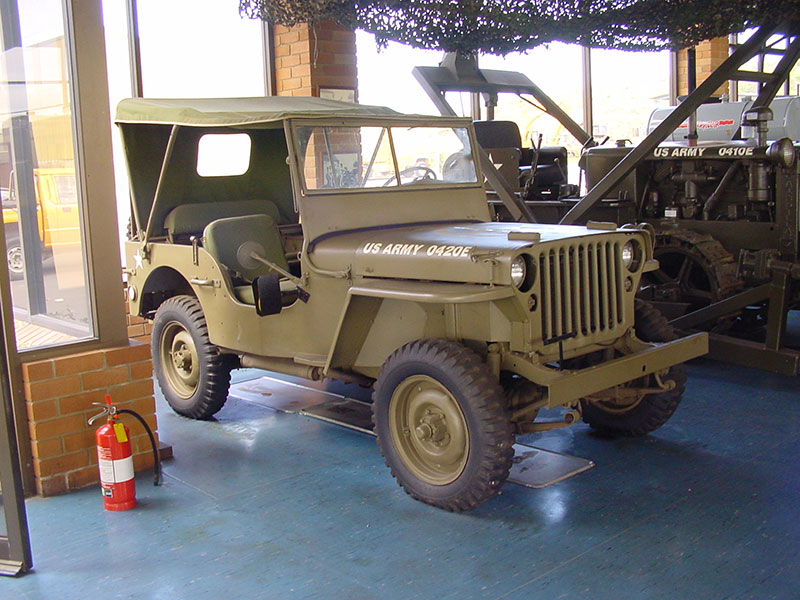 Cleary Bros US Army Jeep