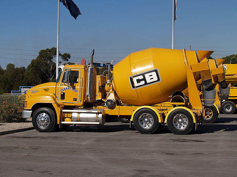 Cleary Bros Concrete Mixer Collection