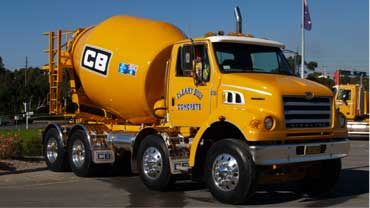Cleary Bros Concrete Mixer